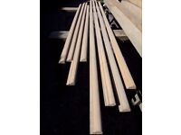 25 metres of decorative wood / timber picture rail