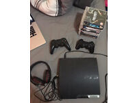 Sony Playstation 3 PS3 with games - Call of Duty Grand Theft Auto GTA