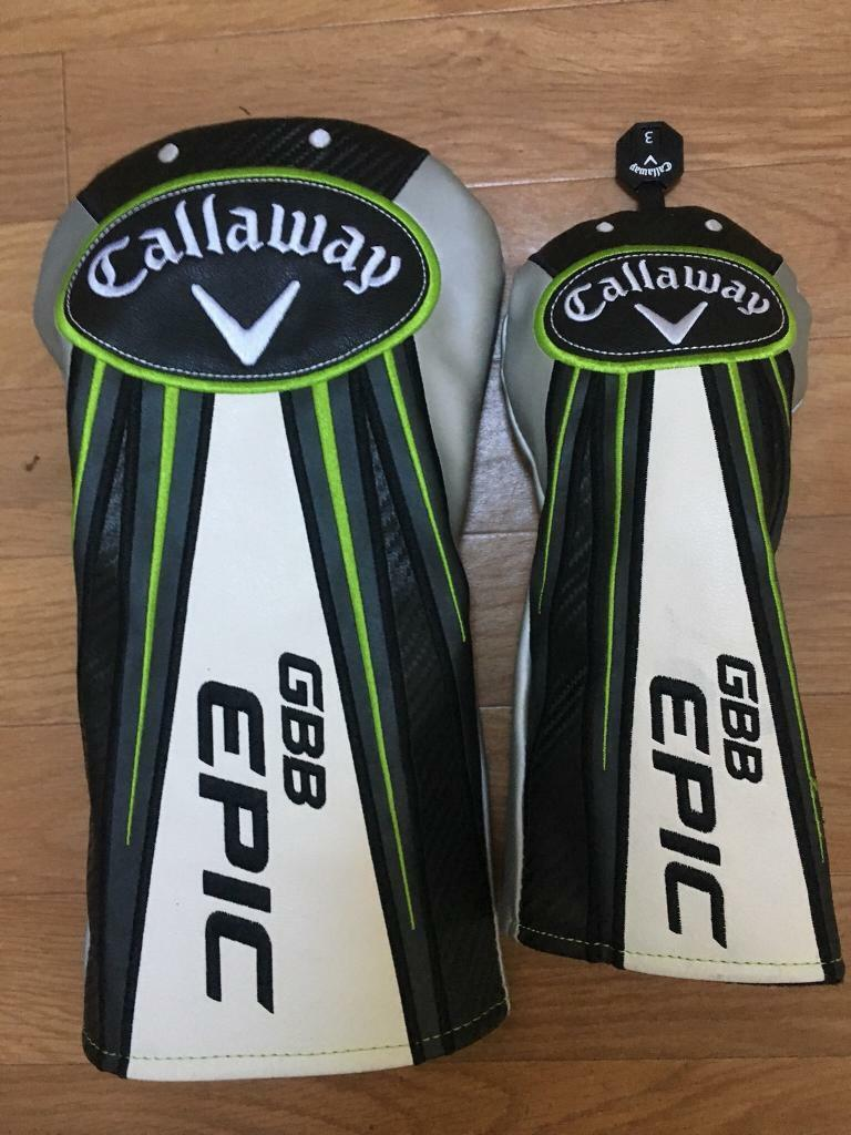 Callaway Epic headcovers