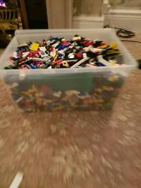 Lego very large amount with tons of mini figs