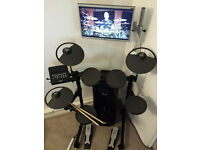 NEVER USED Yamaha DTX400K Electronic Drum Kit - Must Go We Go Abroad