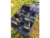 Pro cordless hammer drill & saw