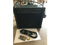 Guitar Man 15 Watt bass Guitar Amplifier GMB15