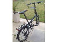 DAHON CITY VYBE Folding Bike + Accessories
