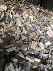 Hard wood mix Logs dry and seqsoned