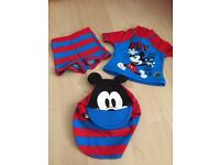 Brand new baby 3piece swimming outfit 0/3 Months
