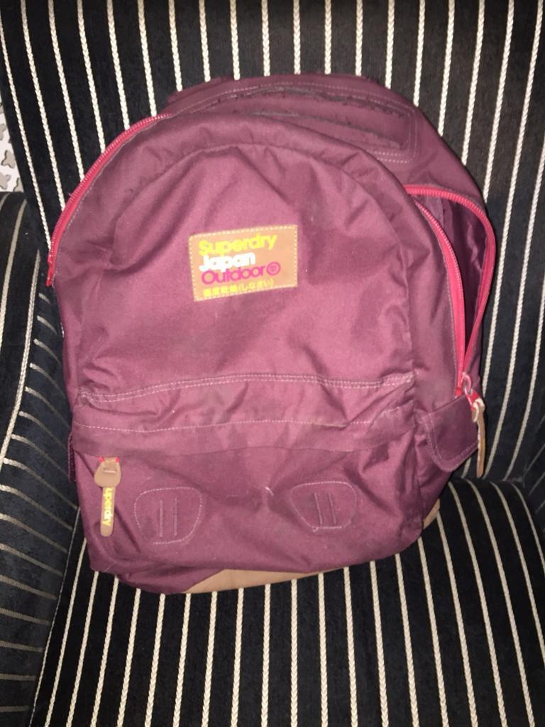 SuperDry BackPack Used good condition millbrook oos