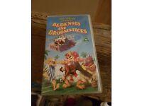 Disney's Bedknobs & Broomsticks VHS Tape