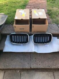 Two BMW X5 Front Grilles BRAND NEW IN BOX from Douglas park