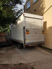 Luton boxvan with tail lift lt 35 long wheel base 55 long mot quick sale £2250