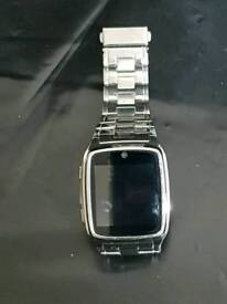 Stainless steel Smartwatch with 2GB memory card