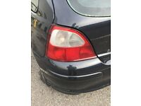 mg zr/rover rear lights