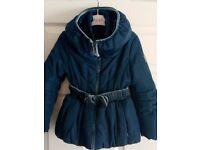 Lovely girls monnalisa coat age 6
