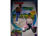 Fisher Price Stroll To Ride Trike