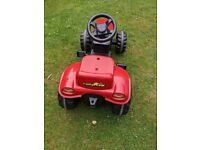 ride on Rolly Kid tractor