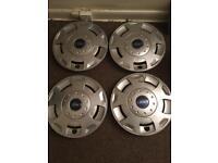 """Transit set wheel trims hub caps 15"""""""