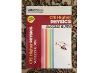 Higher/ National 5 textbooks physics chemistry SQA