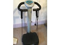 Vibropower plate
