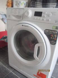 Hotpoint Smart tech 9kg washer Spares or repair