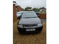 Black 3 door Audi A3 1.9 Tdi Se Car