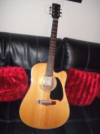 IBANEZ ELECTRO/ACOUSTIC 6 STRING GUITAR