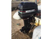 50hp mercury outboard boat engine