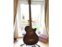 Hohner Acoustic Bass H50 -BS (semi acoustic - brand new pick up)