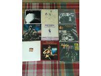 ROCK vinyl albums job lot