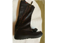 Camper Boots, brown , full-length size 37 used in v.g.c