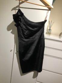 Lipsy black dress, size 10, worn once