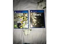PS4 games: Fifa 17 and Fallout4