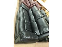 Leather 3.2.1 recliner sofa sale