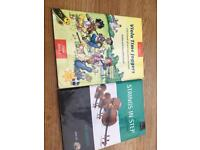 2 beginners viola books complete with CDs