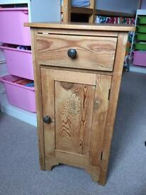 Pine cupboard (bed side table)