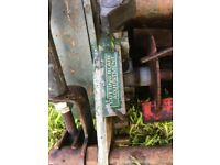 Atco Consort 14 Vintage Lawnmower with adjustable cutting blade and collection box