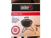 Brand New Weber BBQ-Smokey Joe