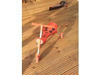 Scuttlebug scooter
