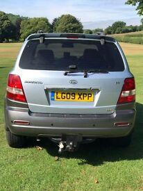 2009 MK1 KIA SORENTO XS 3.5L V6 AUTO PETROL/LPG with 5 Star Breakdown Cover inclusive Wear & Tear
