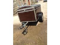 Dog trailer (factory made)