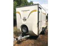 Bateson 470V Box Van Trailer in Excellent Condition, Used once, bought NEW