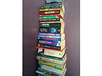 well over a hundred books, good cond, £10 lot / can split - great for boot saler or avid reader!