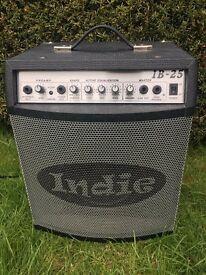 Indie IB25 electric bass amp