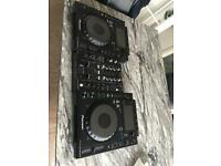 2 PIONEER CDJ 900 NEXUS & DJM - 450 Mixer