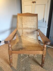 Anglo Indian Plantation Chair