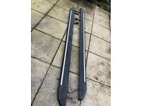 Mercedes Vito extra long side running boards and roof bars
