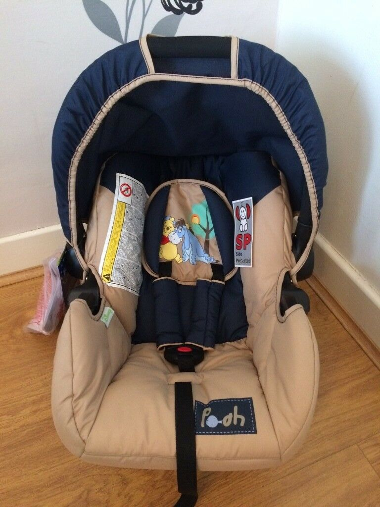 NEW Hauck Zero Plus Car Seat Winnie The Pooh Infant Baby Carrier For Freerider
