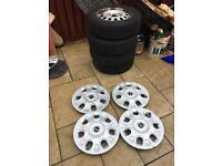 MINI steel wheels and wheel trims