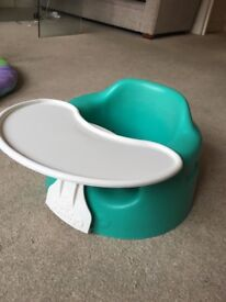 Baby bumbo with tray £5