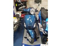 Brand New AJS Sorvio 125 scooter. 125 commuter learner legal. Finance options available. £1149