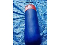 Punch Bag, Wall Bracket & Gloves